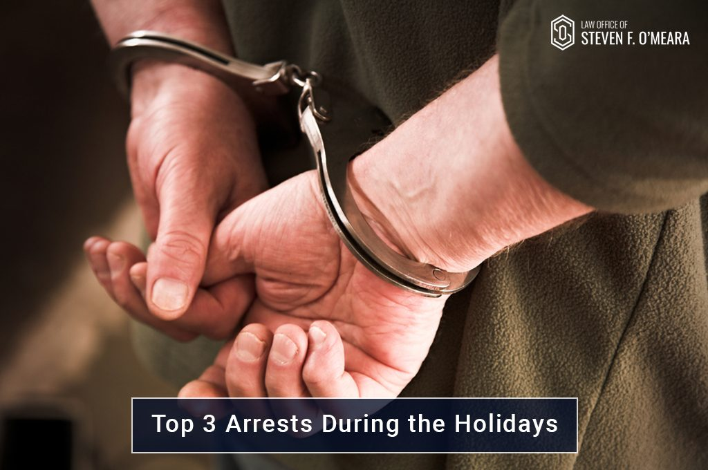 Arrests During The Holidays