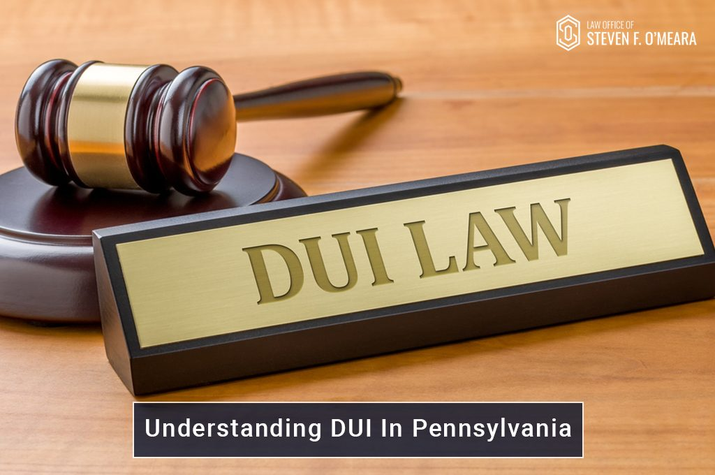 DUI Law In Pennsylvania